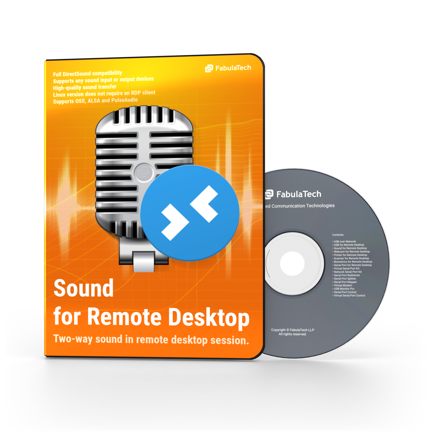 Sound for Remote Desktop - Press Kit